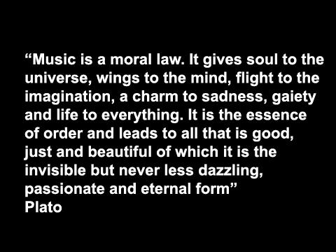 Music-plato